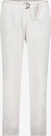 Betty & Co Chino-Hose mit Gürtel in weiß, Produktansicht