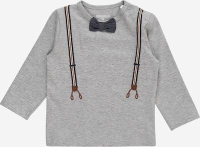 STACCATO Shirt in de kleur Marine / Grijs gemêleerd / Sinaasappel / Wit, Productweergave