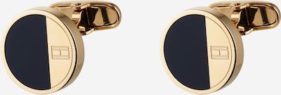 TOMMY HILFIGER Manschettenknöpfe in dunkelblau / gold, Produktansicht