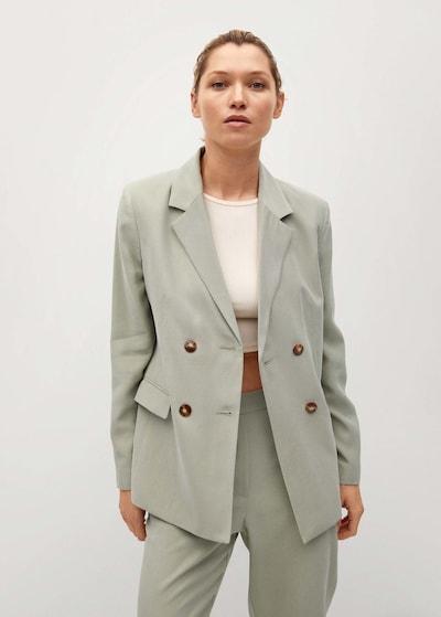 zöld MANGO Blézer, Modell nézet