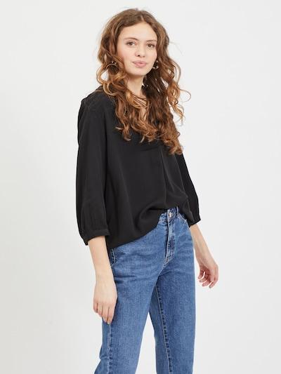 VILA Bluse 'Dania' in schwarz, Modelansicht