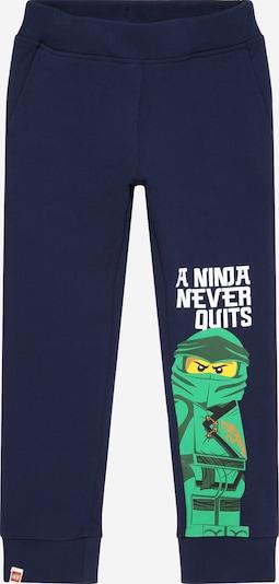 LEGO WEAR Kalhoty - námořnická modř / žlutá / zelená / bílá, Produkt
