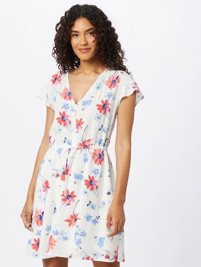 GAP Kleid in mischfarben / weiß, Modelansicht
