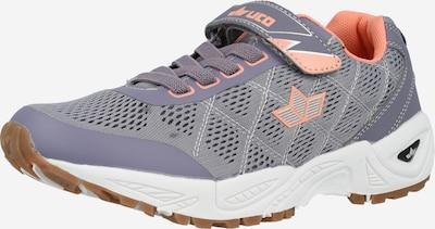LICO Sneaker 'Jackie' in flieder / helllila / pastellorange, Produktansicht