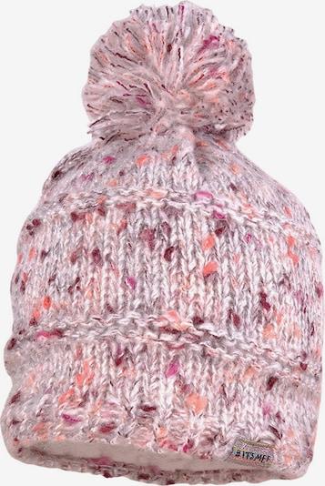 Megzta kepurė iš MAXIMO , spalva - tamsiai violetinė / lašišų spalva / rožinė, Prekių apžvalga