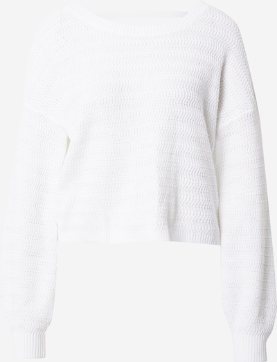 HOLLISTER Pull-over en blanc, Vue avec produit