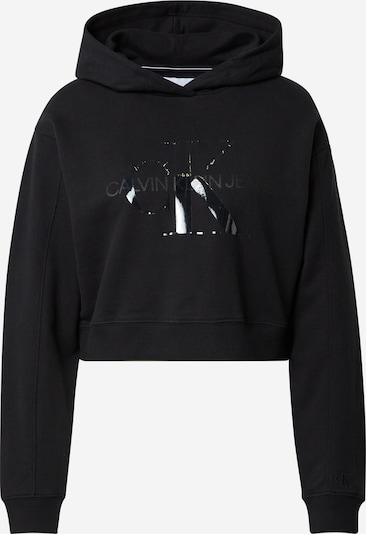 Calvin Klein Jeans Sweatshirt i sort, Produktvisning