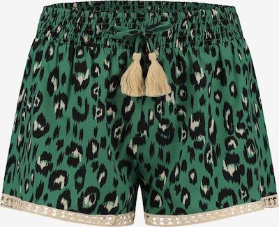 Shiwi Pantalon en beige / vert / noir, Vue avec produit