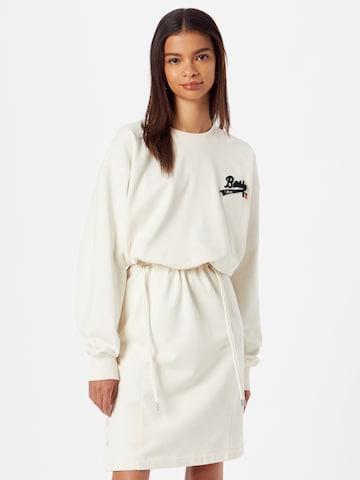 BOSS Sukienka 'C_Eyona_Russell Athletics' w kolorze biały