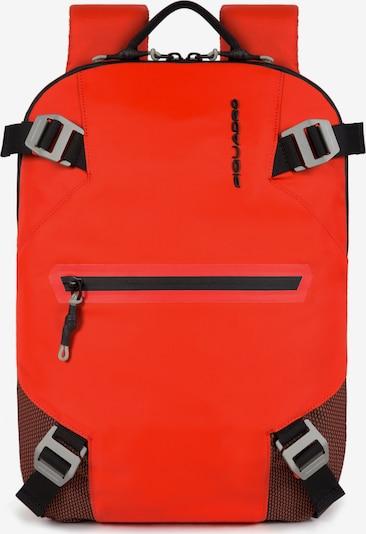 Piquadro Rucksack in rot / schwarz, Produktansicht