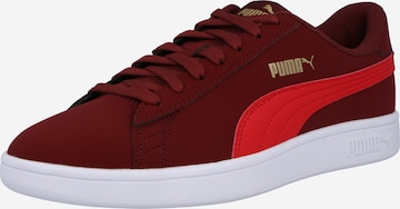 PUMA Sneakers 'Smash v2 Buck' in Red