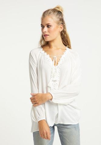 usha FESTIVAL Bluse in Weiß