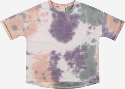 KIDS ONLY T-Krekls 'ZOEY', krāsa - smaragda / debesu lillā / persiku / balts, Preces skats
