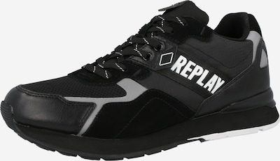 REPLAY Platform trainers in Black / White, Item view
