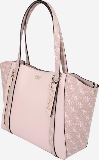 GUESS Nakupovalna torba 'NAYA' | roza / bela barva, Prikaz izdelka