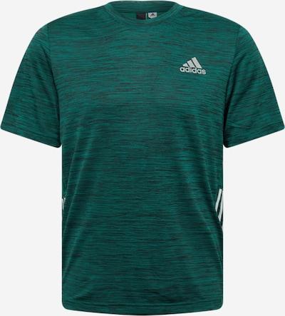 ADIDAS PERFORMANCE Sportshirt in grün / weiß, Produktansicht