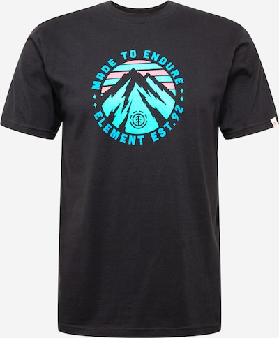 ELEMENT Sporta krekls zils / rozā / melns, Preces skats