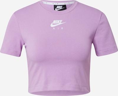 Nike Sportswear Funkčné tričko - svetlofialová / biela, Produkt