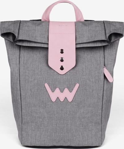 Vuch Rucksack in grau / rosa, Produktansicht
