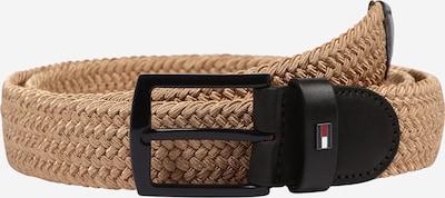 TOMMY HILFIGER Gürtel 'DENTON' in khaki / schwarz, Produktansicht