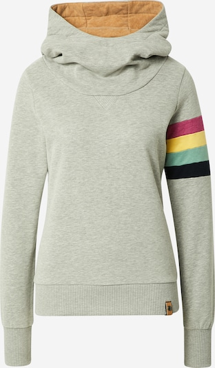 Fli Papigu Sweatshirt 'Der 17' in Light yellow / mottled grey / Mint / Pink / Black, Item view