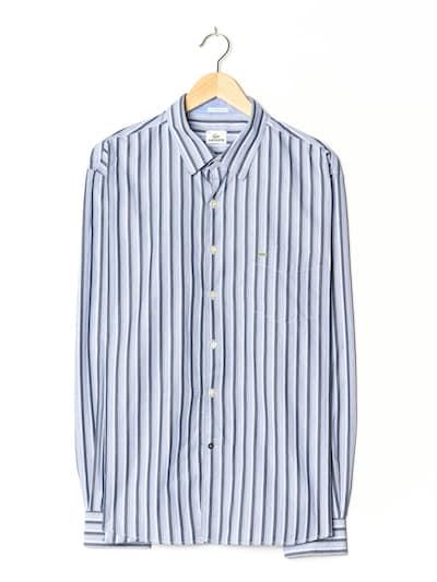 LACOSTE Hemd in XL/XXL in pastelllila, Produktansicht