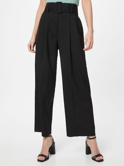 HUGO Pleat-front trousers 'Hugesa' in Black, View model