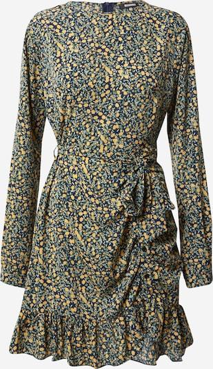 Palaidinės tipo suknelė iš Missguided , spalva - žolės žalia / šviesiai oranžinė / juoda, Prekių apžvalga