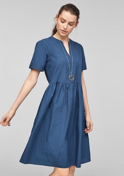 s.Oliver Košeľové šaty - námornícka modrá, Model/-ka