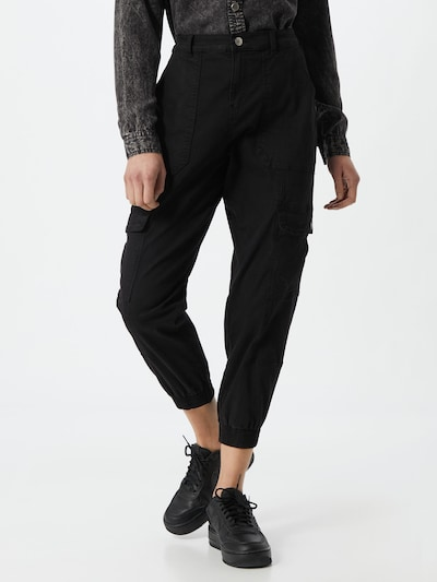 ONLY Cargo trousers 'GIGI' in black, View model