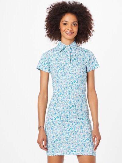Motel Kleid 'SAJEEVE' in hellblau / lila, Modelansicht