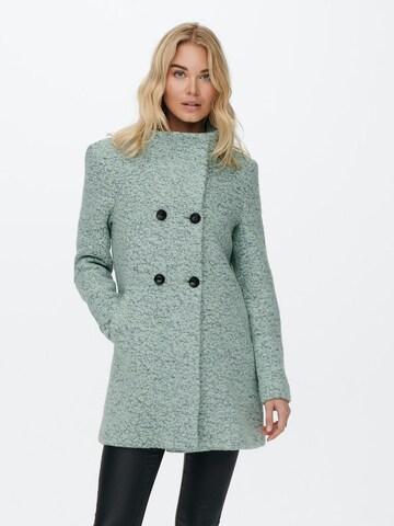 ONLY Átmeneti kabátok 'New Sophia' - zöld