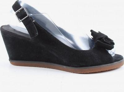 Buffalo London Wedges Sandaletten in 38 in schwarz, Produktansicht