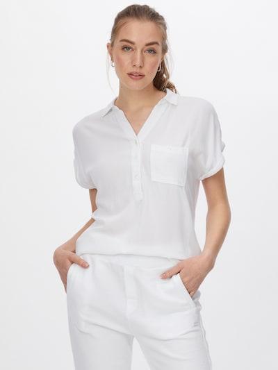 ZABAIONE Chemisier 'Antonella' en blanc, Vue avec modèle