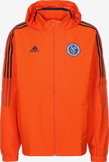 ADIDAS PERFORMANCE Sportjas 'New York City FC' in de kleur Donkeroranje / Zwart, Productweergave