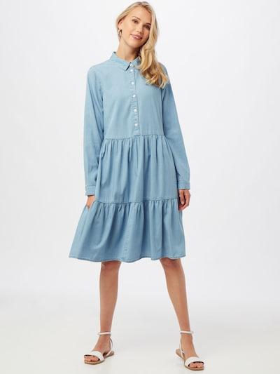 MOSS COPENHAGEN Kleid 'Flikka Jaina' in hellblau, Modelansicht