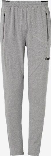 UHLSPORT Sporthose in graumeliert / schwarz, Produktansicht