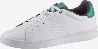 TOMMY HILFIGER Sneaker in navy / grün / rot / weiß, Produktansicht