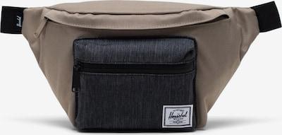Herschel Чанта за кръста 'Seventeen' в таупе сиво / черен деним, Преглед на продукта