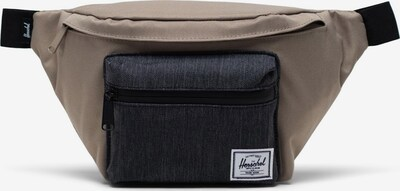 Herschel Riñonera 'Seventeen' en taupe / negro denim, Vista del producto