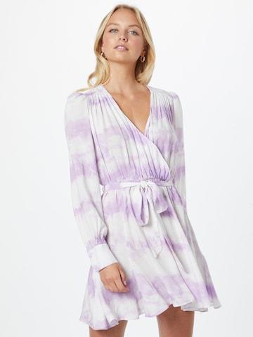 River Island Košeľové šaty - fialová