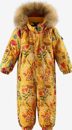 Reima Schneeanzug 'Lappi' in gelb / mischfarben, Produktansicht