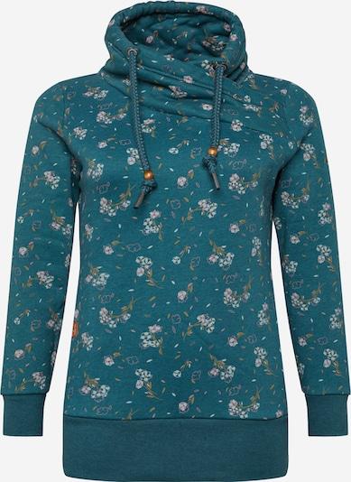 Megztinis be užsegimo 'NESKA' iš Ragwear Plus , spalva - benzino spalva / rožinė / balta, Prekių apžvalga