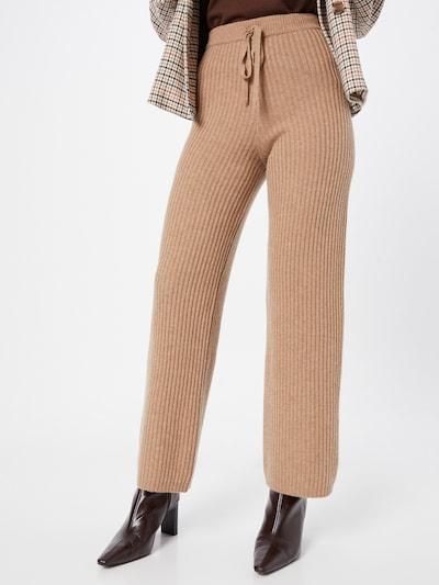Pantaloni Pure Cashmere NYC di colore beige: Vista frontale
