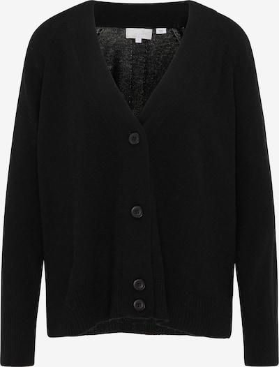 RISA Cardigan en noir, Vue avec produit