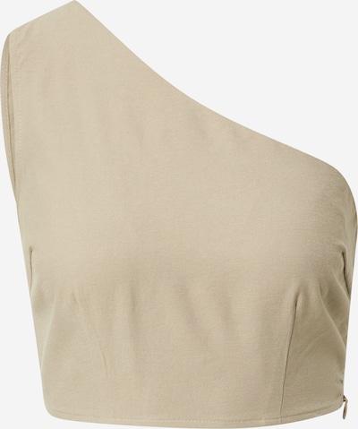 In The Style Μπλούζα 'NAOMI GENES' σε γκριζομπέζ, Άποψη προϊόντος