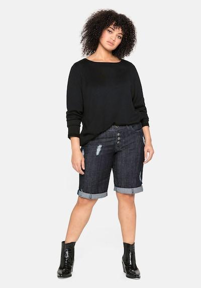 Jeans SHEEGO pe albastru denim, Vizualizare model
