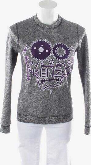 KENZO Sweatshirt  in XS in silber, Produktansicht