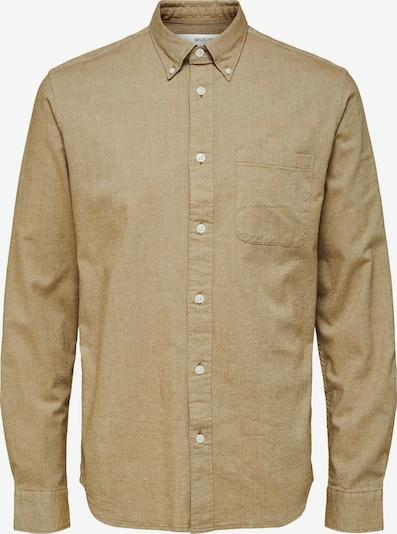 SELECTED Hemd in kastanienbraun, Produktansicht