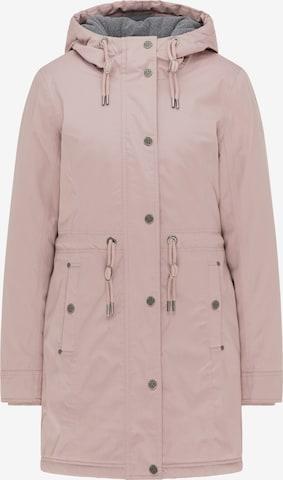 DreiMaster Vintage Between-Seasons Parka in Pink